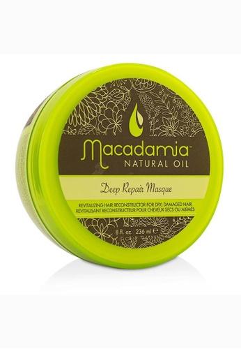 Macadamia Natural Oil MACADAMIA NATURAL OIL - Deep Repair Masque (For Dry, Damaged Hair) 236ml/8oz 1F7B1BECC59D1AGS_1