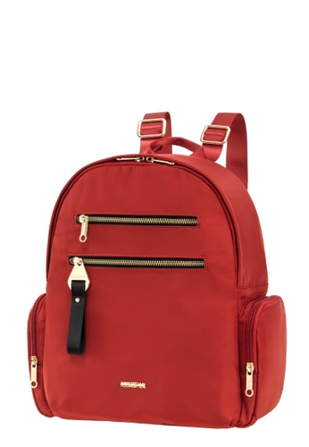 American Tourister red American Tourister Alizee IV Backpack 2 F0D00AC8FEE35DGS_1