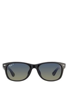 b47d08dae62 Ray-Ban black New Wayfarer RB2132F Polarized Sunglasses RA896GL88KUXMY 1