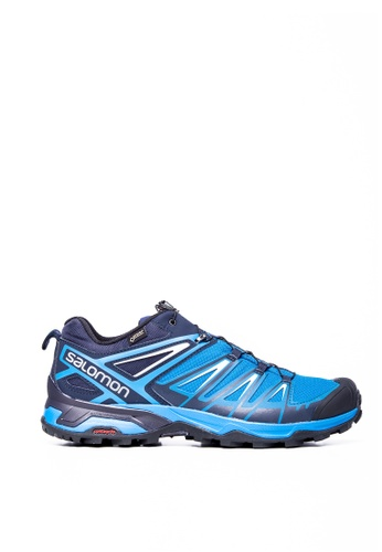 Salomon blue Salomon X Ultra 3 GTX Mykonos Men BL/Indigo B 1DED2SHC9C934DGS_1