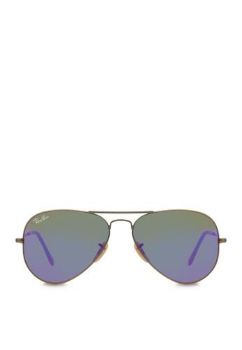 Aviesprit 請人ator 反光太陽眼鏡, 飾品配件, 飛行員框