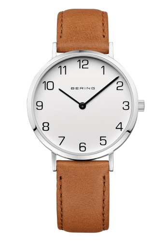 Bering silver Classic 13934-504 White 34 mm Women's Watch 9A916ACC34A775GS_1