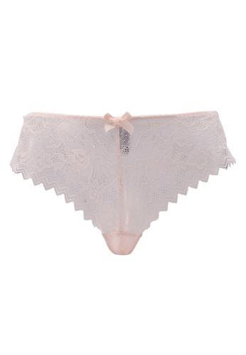 Undiz beige Basiciz Shorty Panties CD3E3US1180F6FGS_1