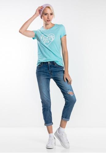 Levi's blue Levi's® Boyfriend Jeans 835B8AA12D06F8GS_1