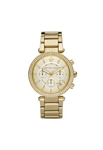 Parker鑽飾計時腕錶 MK5354, 錶類, 時zalora 內衣尚型
