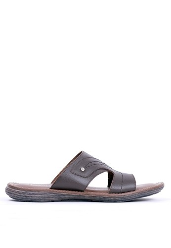 Tony Perotti brown Tony Perotti Sandals Emiliano - Brown F826BSH6CC0957GS_1