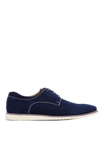 Life8 blue Men Nubuck Simple Casual  Shoes-09731-Blue LI283SH0GOADSG_1