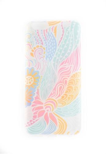 Fancy Cellphone Cases multi Multicolored Soft Transparent Case for iPhone 6/6s  FA644AC50KKNPH_1