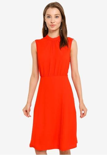 G2000 red Sleeveless Dress 346AEAA002ADE2GS_1
