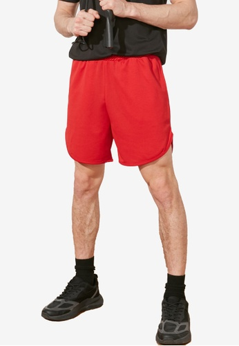 Trendyol red Sports Shorts 8C0A6AAA6BF9E9GS_1
