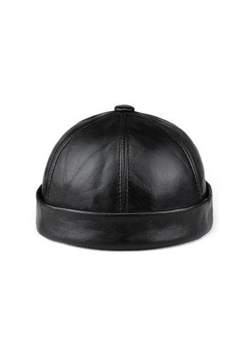 Kings Collection black Black Cowhide Miki Hat (KCHT2019) B75CCAC3416476GS_1