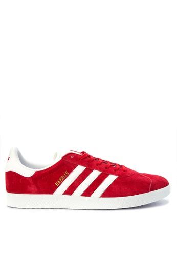 Adidas red adidas originals gazelle   AD678SH23UGIPH_1