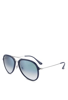 10727eefb1 Shop Ray-Ban Marshal RB3648 Polarized Aviator Sunnies Online on ...