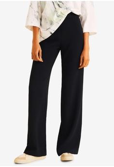 b58215f7b9709 MANGO black Straight Suit Trousers 7D462AA262D1F6GS 1