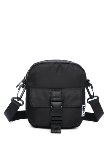 Milliot & Co. black Hoga Sling Bag DF5A4AC859F55FGS_1