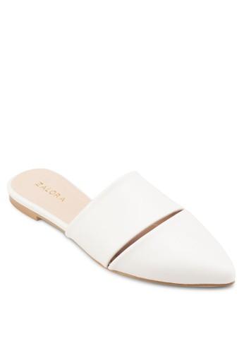 尖頭露跟平底鞋、 女鞋、 鞋ZALORA尖頭露跟平底鞋最新折價