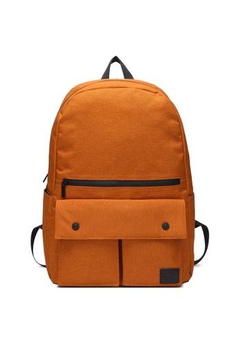 The Dude orange Urbanist Backpack TH373AC53NBUHK_1
