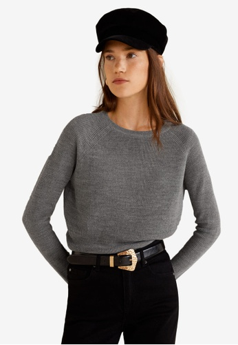 MANGO grey Fine-Knit Sweater 37D48AA892550AGS_1