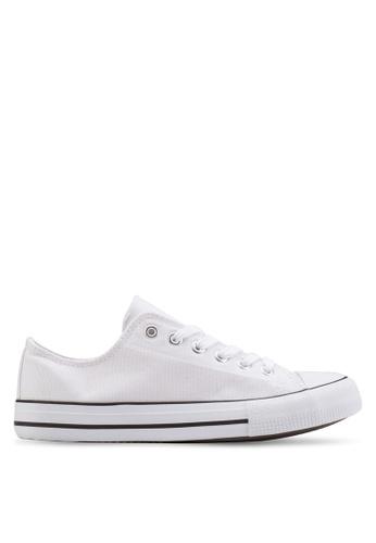 Rubi white Jodi Low Rise Sneakers RU506SH22VFLMY_1