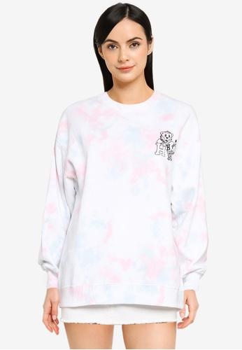 Hollister multi Trend Wash Crew Sweatshirt FF883AADB2624AGS_1
