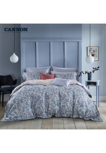 CANNON CANNON Ashton - Leafyion (Fitted Sheet Set). E5132HL9FDAB0AGS_1