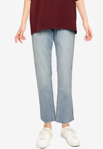 Public Desire blue Straight Jeans AA01FAACFC7100GS_1