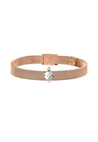 Morellato silver Morellato Sensazioni Steel PVD Rose Gold Ladies Bracelets SAJT70 7F9DAACF57D127GS_1