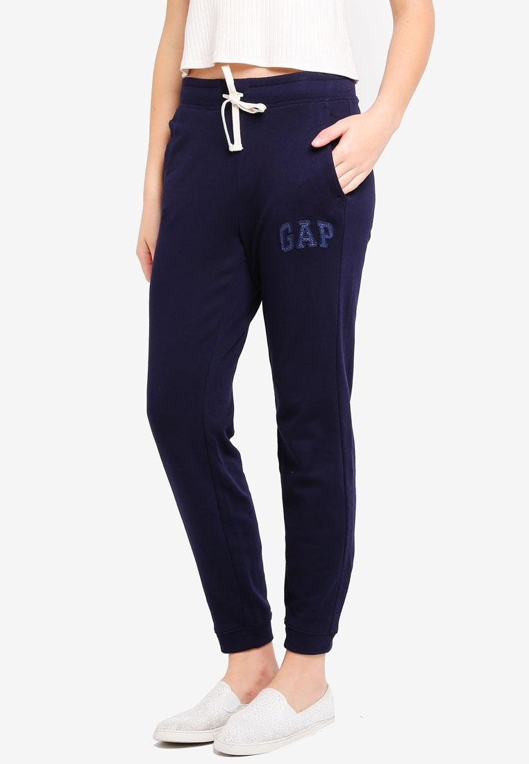 Navy Gap Uniform Glitter Logo GAP Joggers XdwRIFdq