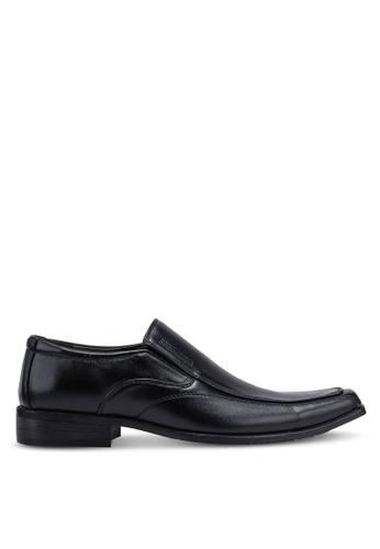 Rocklander black Slip On Formal Shoes 4978FSH92A2BC9GS_1