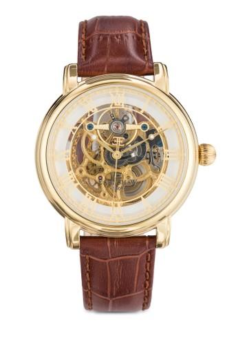 Longcase 43mm 機芯鏤空羅馬數字手錶, 錶esprit 羽絨外套類, 飾品配件