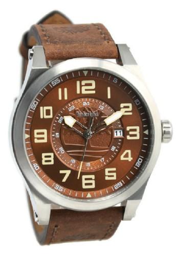 Timberland Jam Tangan Pria Coklat Leather Strap TBL14644JS-12