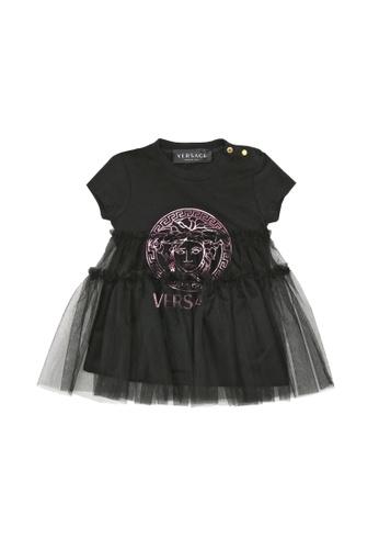 Versace black VERSACE BABY GIRLS DRESS 56EF7KA48B7EFFGS_1