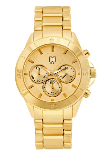BRANWYN gold Amara Gold Steel Watch BR709AC45UAWPH_1