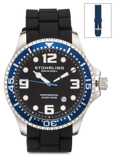 Aquadiver 防水夜光圓錶