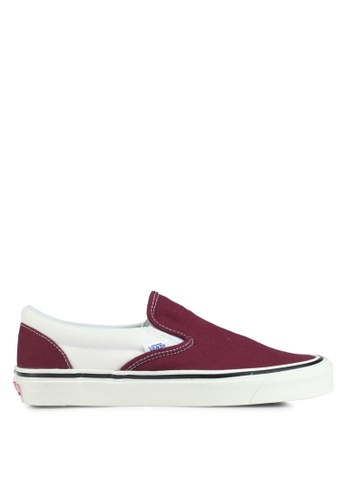 VANS white and red Slip-On 98 DX Anaheim Factory VA142SH0SWNTMY_1