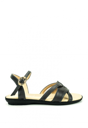 Cardam's Lifestyle grey Anne Flat Sandals F5F4FSHEFE97F2GS_1