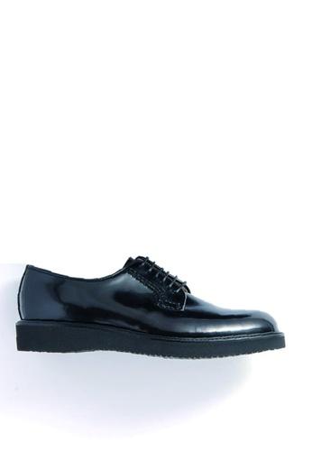 HARUTA black Lace-Up Shoes-MEN-711P 5870ESH8CAD591GS_1