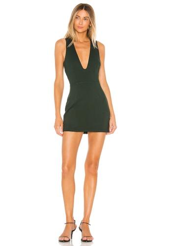 superdown green Mia Mini Dress(Revolve) DDF84AA28AD5F5GS_1