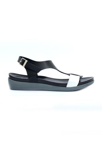 Ohrelle black Dally T-Strap Flip Flops OH449SH57FOOPH_1
