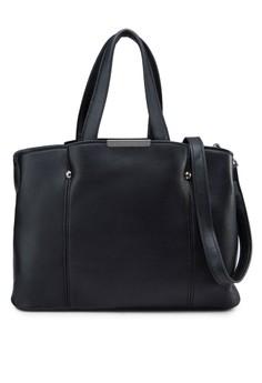 Textured Convertible Classic Shoulder Bag