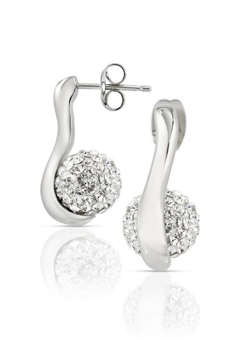 Morellato silver Luminosa Earrings SAET05 Stainless Steel Crystals 1DBCBACC5D1F37GS_1