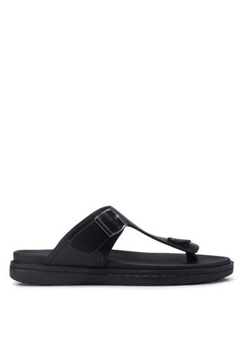 Bata black Slide-On Flip Flops 0191DSH470B6B1GS_1