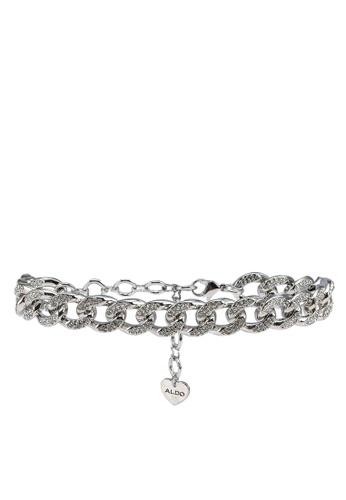 ALDO silver Woiwiel Anklet 84988ACEF6EB31GS_1
