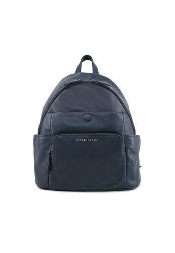 Samuel Ashley blue Samuel Ashley Aria Lambskin Leather Backpack - Prussian Blue 036F5ACA29A62FGS_1