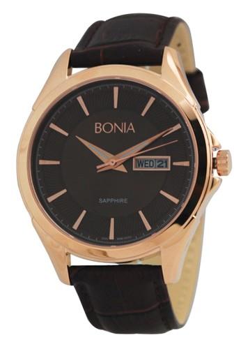 BONIA brown Bonia B10052-1542 - Jam Tangan Pria - Brown Rosegold  8410CAC654B4BEGS 1 6984b672f5