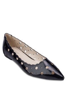 Emily Cut-out Flats