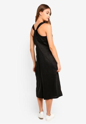 be590bf0f661 Buy DKNY Sleeveless V Neck Jumpsuit Online on ZALORA Singapore