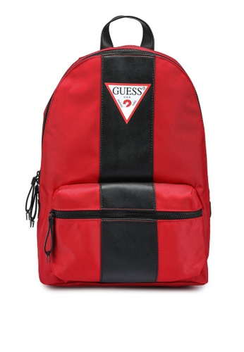 Guess red Central Backpack 89E32ACEECBE01GS_1