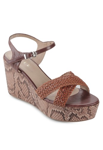 ELLE brown Elle Ladies Shoes EL712SH14KMRID_1