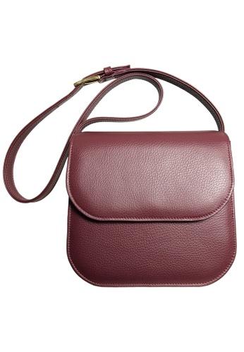 72 SMALLDIVE red 72 Smalldive Womens Shoulder Leather Handbag In 2 Color Tone Bordeaux CF546AC58428FFGS_1